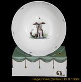 Bee Happy bone china bowl by artist Anita Jeram.