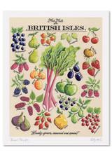 Kelly Hall Fresh Fruits Print. Printed in England.