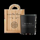 Vanilla Blanc Bergamot & Huile de Ylang Matt Edition Candle in a Signature® Wooden Gift Box
