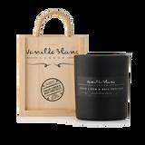 Vanilla Blanc Linen & Bois Precieux Matt Edition Candle in a Signature® Wooden Gift Box