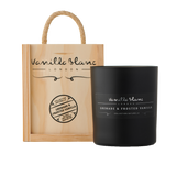 Vanilla Blanc Grenade & Frosted Vanilla Matt Edition Candle in a Signature® Wooden Gift Box