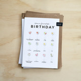 Have a Gincredible Birthday Card from Everlong Print Co. Made in England