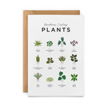 Sometimes I Wet my Plants Card from Everlong Print Co. Made in England.