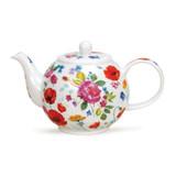 Fine bone china Dunoon Wild Garden small teapot.