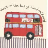 Wheels on the Bus Card by Poppy Treffry.