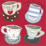 Four Teacups Card