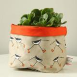 Poppy Treffry Oyster Catcher storage pot.