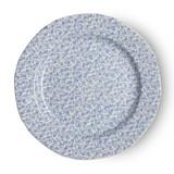 "Burleigh Blue Felicity Plate 8.5"". Handmade in England"