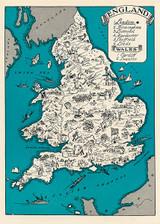 England & Wales 1930 Blank Greetings Card.