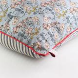 Wild Flower Cushion by Poppy Treffry.