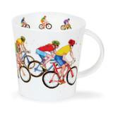 Dunoon Cairngorm Peloton bone china mug.