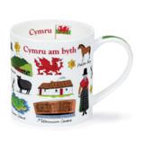 Dunoon Orkney Cymru Bone China Mug.