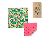 Cath Kidston Flower Power Beeswax Wrap - Set of 2