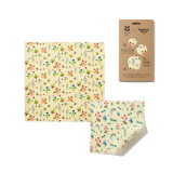 National Trust Summer Bloom Beeswax Wraps - pack of 2