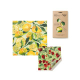 Emma Bridgewater Artichoke and Tomato Beeswax Wraps - Pack of 2
