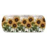Caroline Cleave Sunflowers Melamine Sandwich Tray for Emma Ball