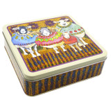 Emma Ball Sheep in Sweaters Square Tin