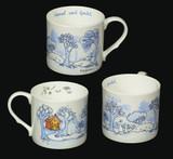 Hansel & Gretel Blue mug by artist Anita Jeram