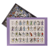 Women Who Changed the World 100% Cotton Jigsaw Puzzle by Picturemaps
