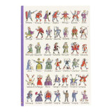 Kings & Queen's of England A5 Notebook by Picturemaps