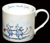 Jack & Jill Blue mug by artist Anita Jeram