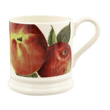 Emma Bridgewater Vegetable Garden Apples Half Pint Mug. Handmade in England.