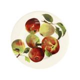 Emma Bridgewater handmade pottery Apples 8 1/2 inch plate.