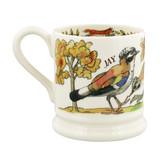Emma Bridgewater Foxes and Jay Half Pint mug