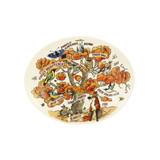 Emma Bridgewater handmade pottery In an Oak Tree Small Oval Platter.