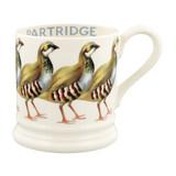 Emma Bridgewater Red Legged Partridge Half Pint Mug
