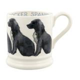 Handmade Cocker Spaniel 1/2 pint mug by Emma Bridgewater.