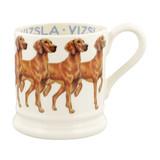 Handmade Vizsla 1/2 pint mug by Emma Bridgewater.