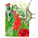 In the Thistle Garden Hanging Fandangle Card by Madame Treacle