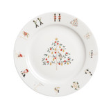 Sophie Allport 12 Days of Christmas-Partridge In A Pear Tree Side Plate