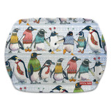 Penguins in Pullovers Melamine Scatter Tray