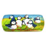 Playful Puffin Melamine Sandwich Tray by Emma Ball