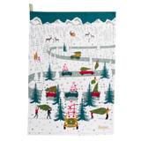 Sophie Allport Home for Christmas Set of 2 Tea Towels