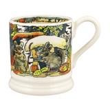 Emma Bridgewater 1/2 pint mug. Hand made in England.