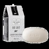 Au Lait 100g Soap Milk Carton from The Scottish Fine Soaps Company. Made in Scotland.