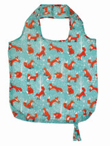 Foraging Fox Packable Bag from Ulster Weavers.