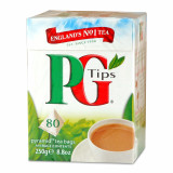 PG Tips Teabags. 80 ct.