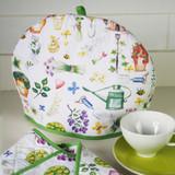 Herb Garden Cotton Tea Cosy by Samuel Lamont.