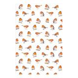 Little Red Robins Cotton Tea Towel by Samuel Lamont.