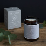 100% organic vegan No More Wet Dog candle from Sweet William Designs.