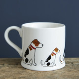 Pottery Jack Russell mug from Sweet William Designs.