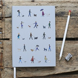 Dog Walkers Notebook from Sweet William Designs
