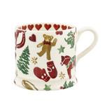 Hand made small Christmas Celebration mug from Emma Bridgewater
