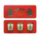 Christmas Tree Votive Gift Set by Wax Lyrical. Made in the UK.