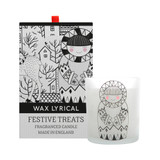 Baby It's Cold Outside - Festive Treats Glass Candle from Wax Lyrical.
