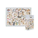 'A Dog's Life' Jigsaw Puzzle by Wrendale Designs.
